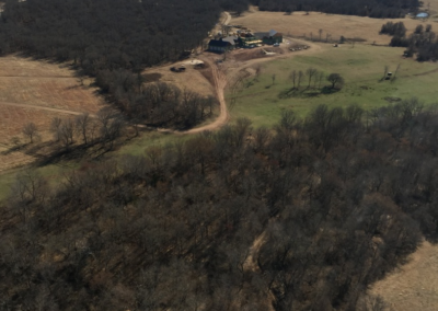 Aerial of the Ranch